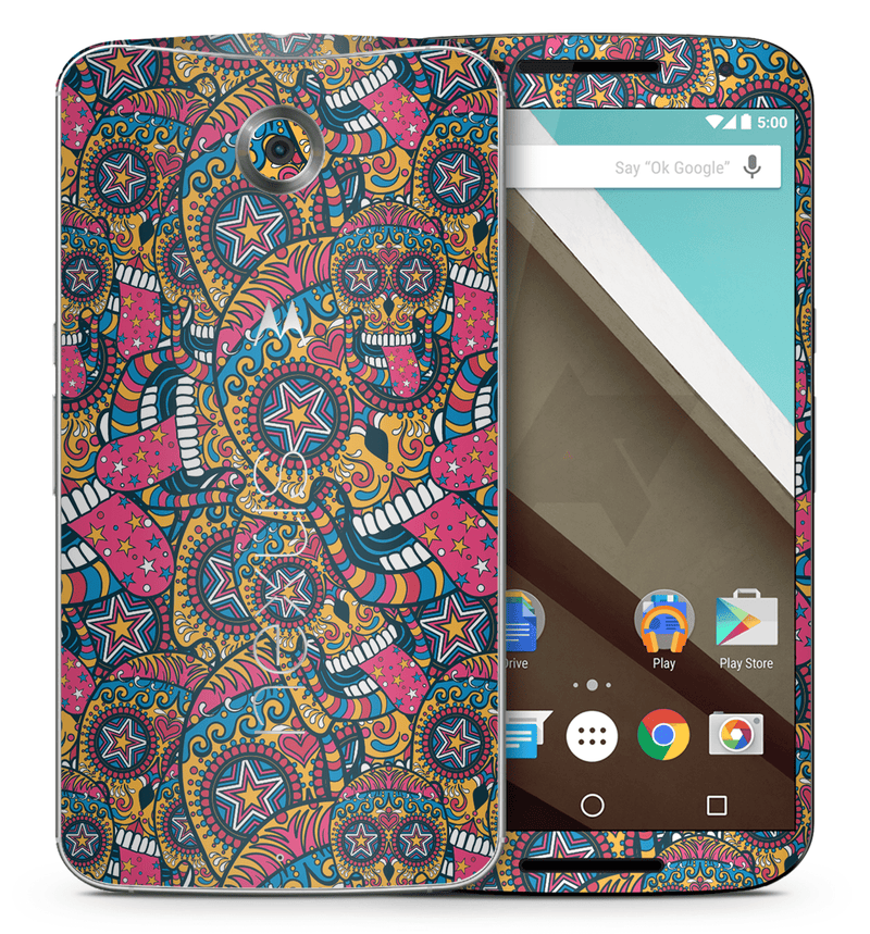 Google Nexus 6 Sugar Skulls Collection - JW Skinz