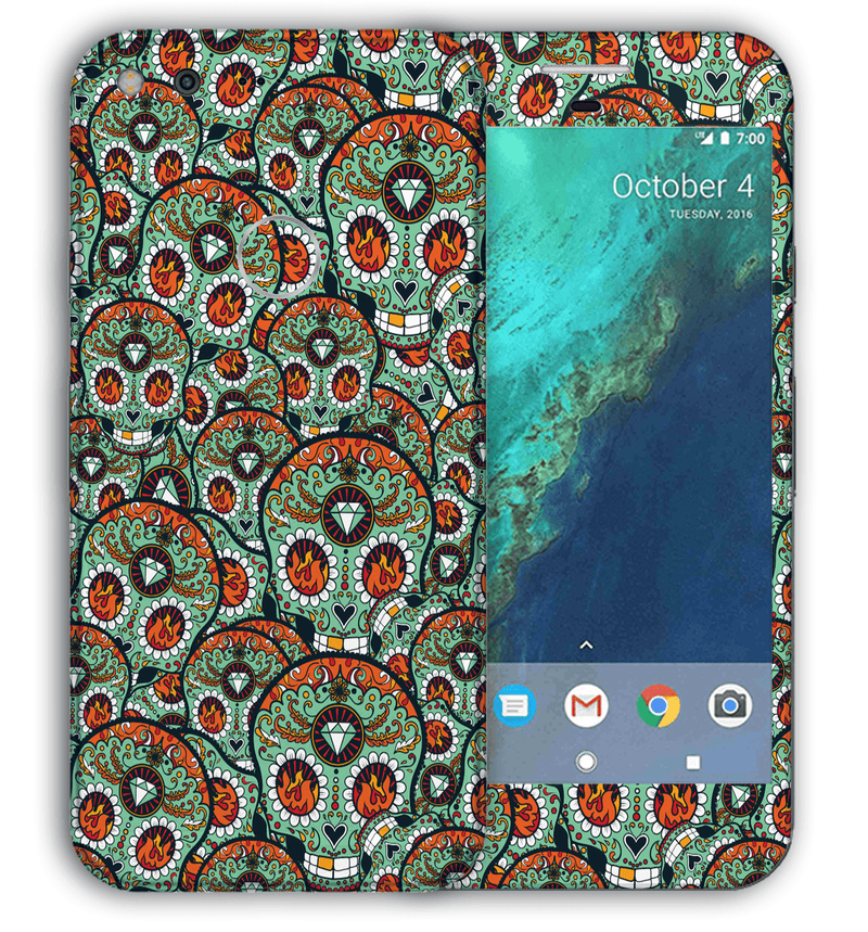 Google Pixel Sugar Skulls Collection - JW Skinz
