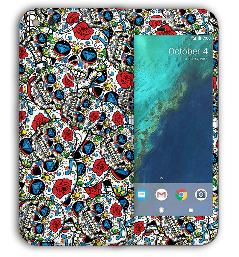 Google Pixel XL Sugar Skulls Collection - JW Skinz