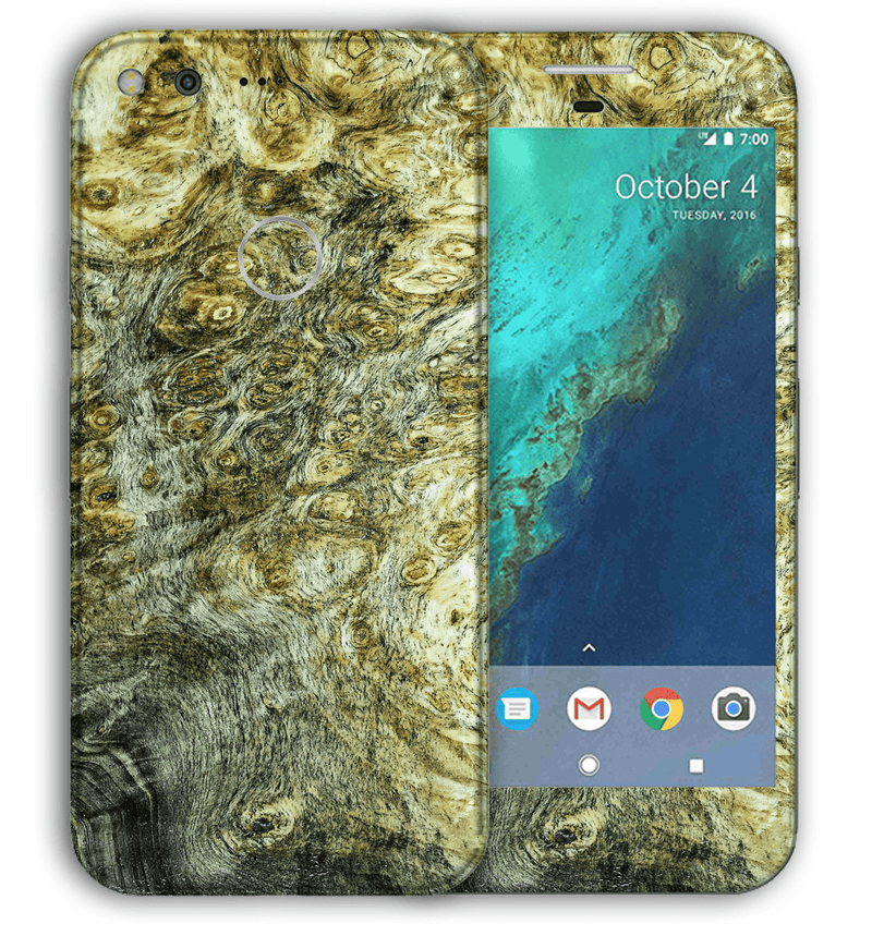 Google Pixel XL Stabilized Wood Collection - JW Skinz