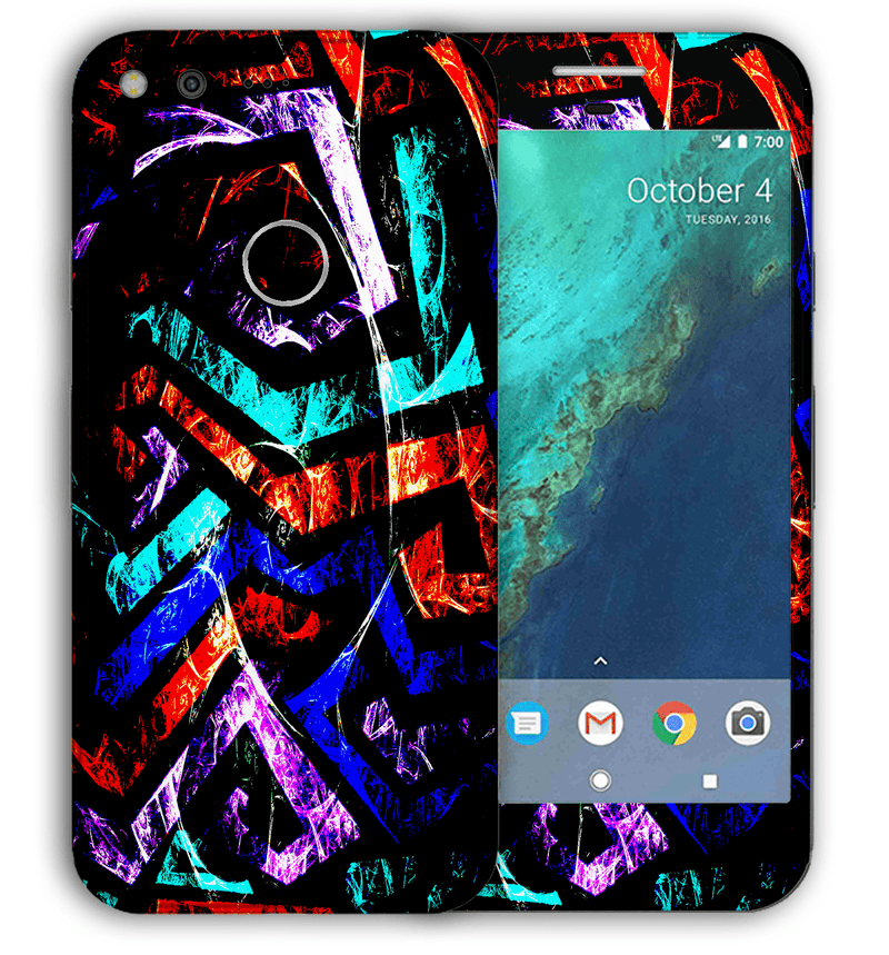 Google Pixel XL Abstract Collection - JW Skinz