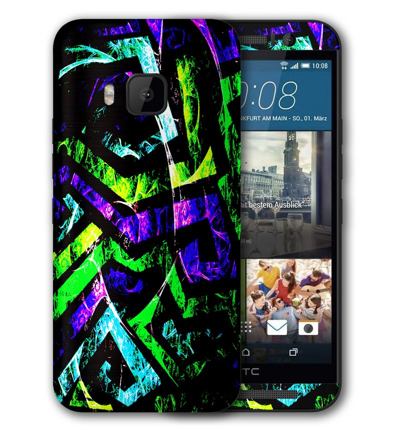 HTC One M9 Abstract Collection - JW Skinz