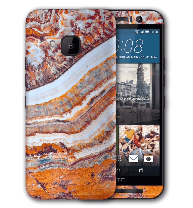 HTC One M9 Marble Collection - JW Skinz