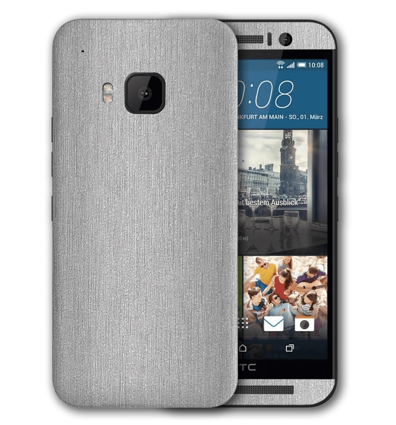 HTC One M9 Brushed Aluminum Collection - JW Skinz