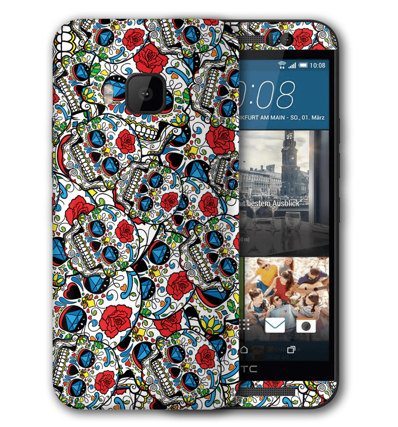 HTC One M9 Sugar Skulls Collection - JW Skinz