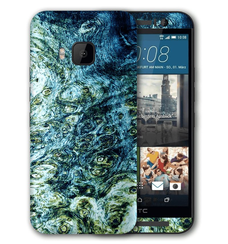 HTC One M9 Stabilized Wood Collection - JW Skinz