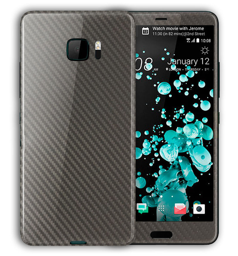 HTC U Ultra Phone Skins Carbon - JW Skinz