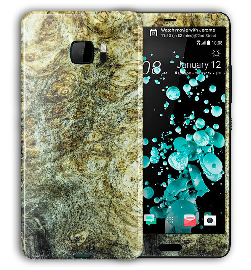 HTC U Ultra Phone Skins Stabilized Wood - JW Skinz