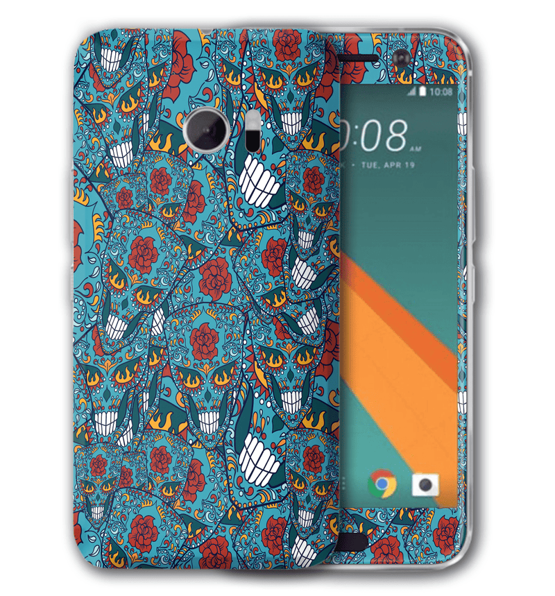 HTC 10 Sugar Skulls Collection - JW Skinz