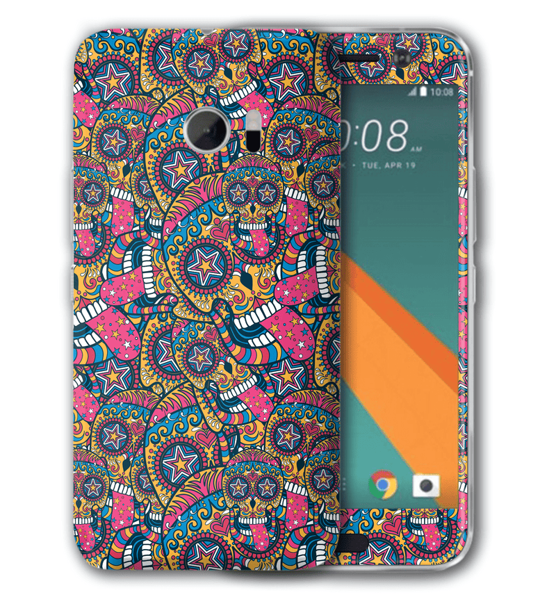 HTC U11 Sugar Skulls Collection - JW Skinz