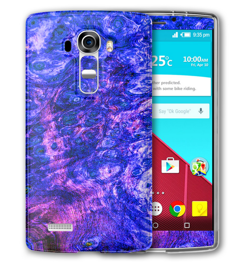 LG G4 Stabilized Wood Collection - JW Skinz