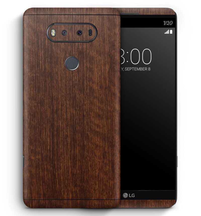 LG V20 Phone Skins Wood Grain - JW Skinz