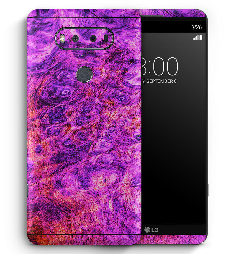 LG V20 Phone Skins Stabilized Wood - JW Skinz