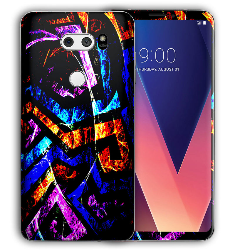 LG V30 Phone Skins Abstract - JW Skinz