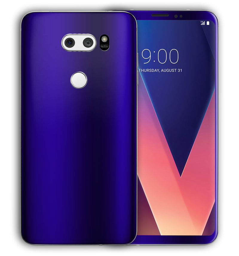 LG V30 Phone Skins Chrome - JW Skinz