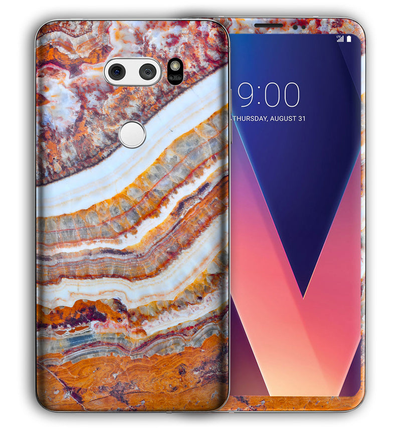 LG V30 Marble Collection - JW Skinz