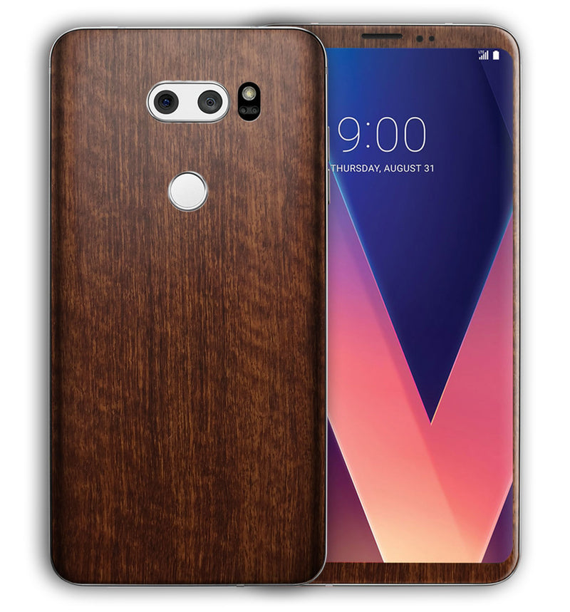 LG V30 Phone Skins Wood Grain - JW Skinz