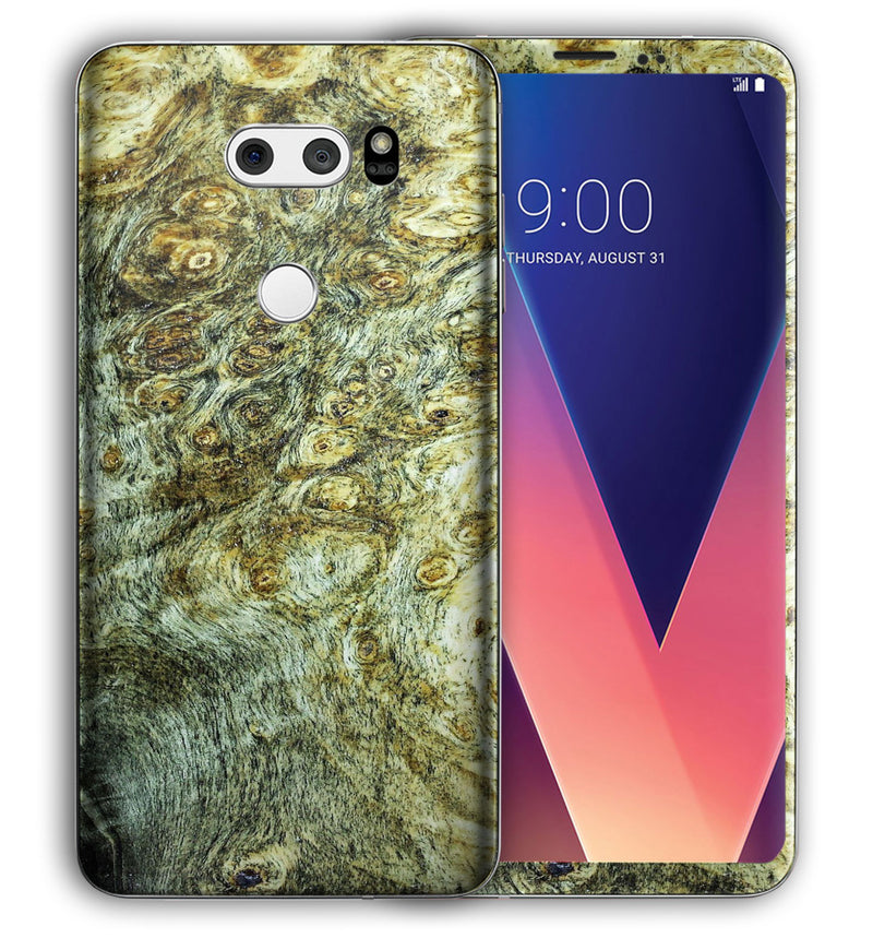 LG V30 Phone Skins Stabilized Wood - JW Skinz
