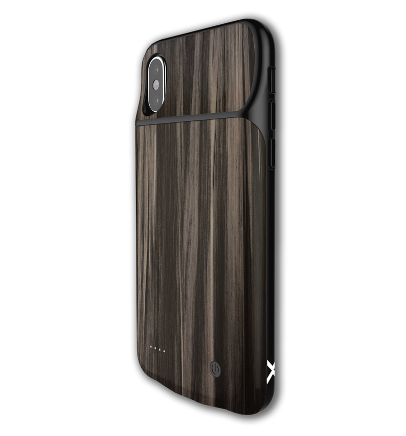 LUX Skin iPhone X/XS Wood Grain - JW Skinz
