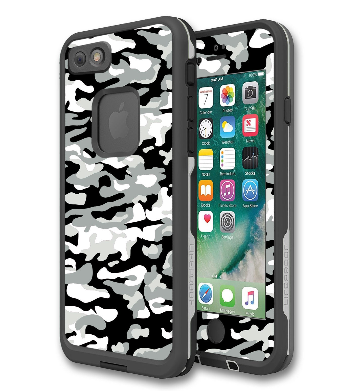 new concept acfef ef036 LifeProof FRE Skin iPhone 6 Plus /6S Plus Camo