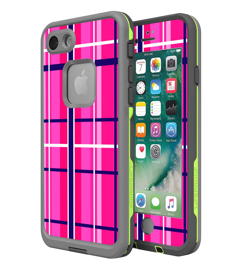 LifeProof FRE Skin iPhone 7/8 Plaid - JW Skinz