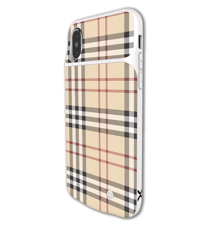 LUX Skin iPhone X/XS Plaid - JW Skinz