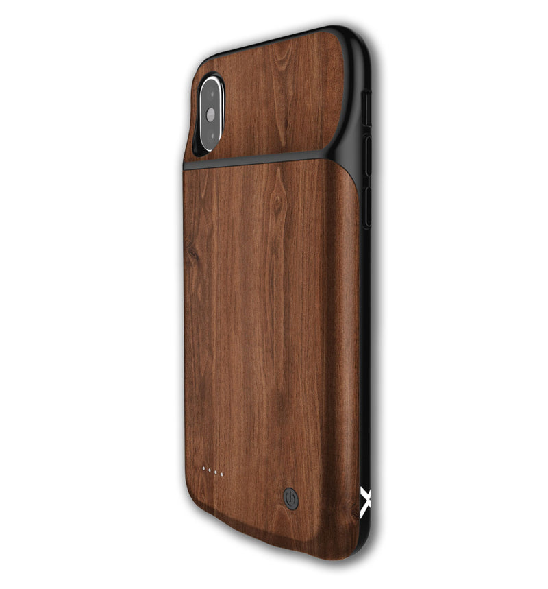 LUX Skin iPhone X Wood Grain - JW Skinz