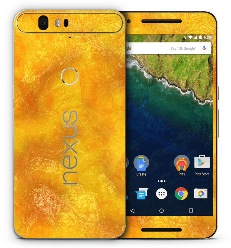 Google Nexus 6P Marble Collection - JW Skinz