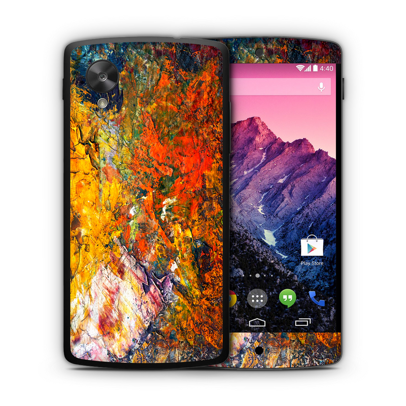 Google Nexus 5 Marble Collection - JW Skinz