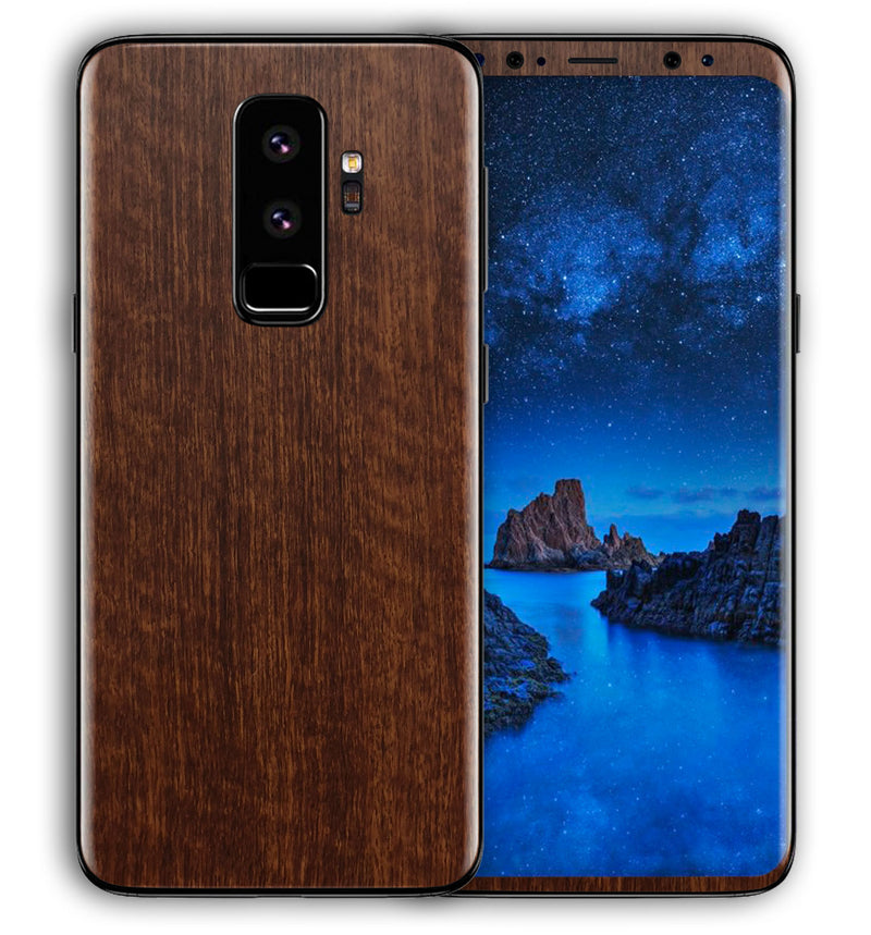 Galaxy S9 Plus Phone Skins Woodgrain - JW Skinz