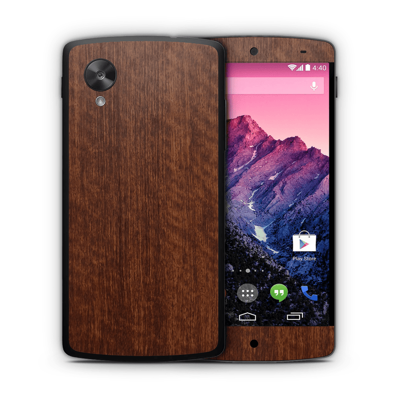 Google Nexus 5 Woodgrain Collection - JW Skinz