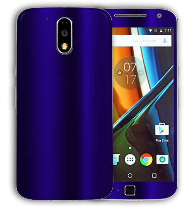 Moto G4 Plus Chrome Collection - JW Skinz
