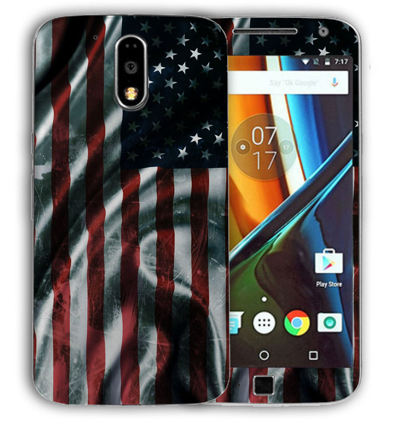 Moto G4 Plus Freedom Collection - JW Skinz