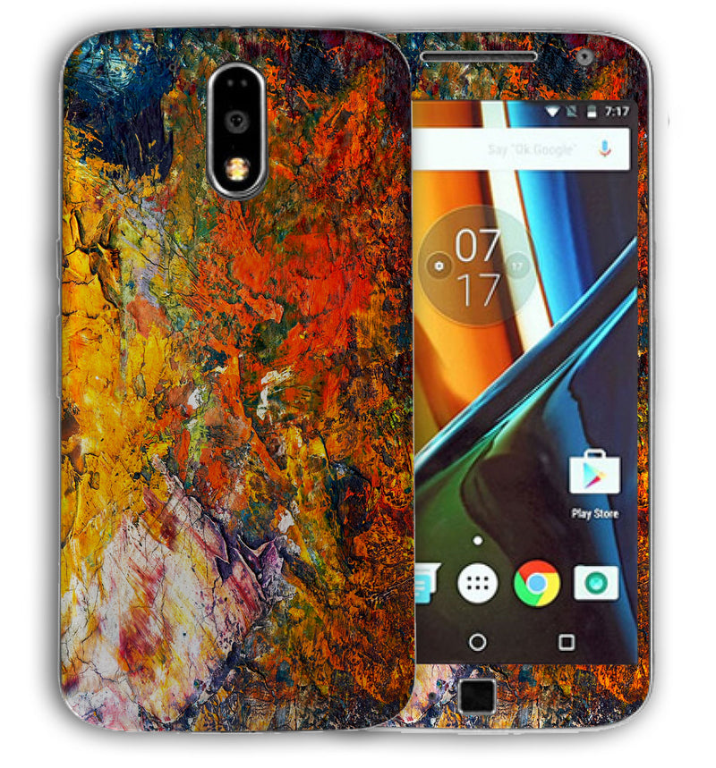 Moto G4 Plus Marble Collection - JW Skinz