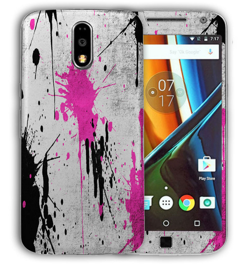 Moto G4 Plus Paint Splatter Collection - JW Skinz
