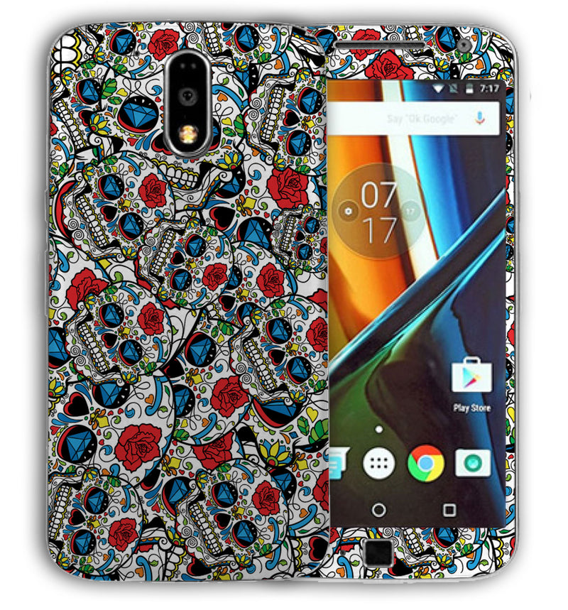 Moto G4 Plus Sugar Skulls Collection - JW Skinz