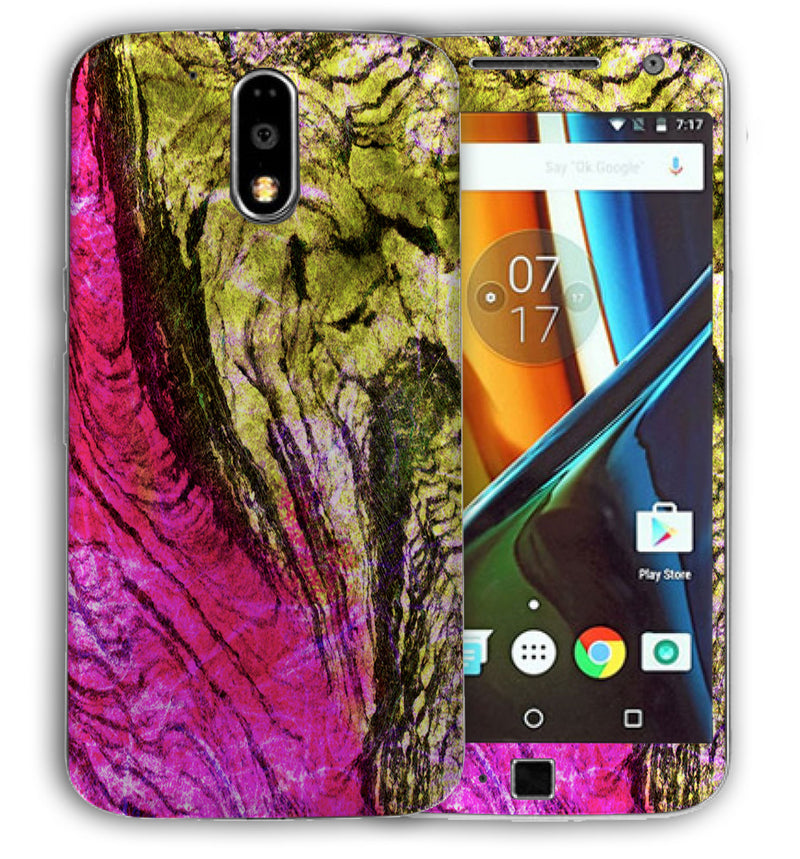 Moto G4 Plus Stabilized Wood Collection - JW Skinz