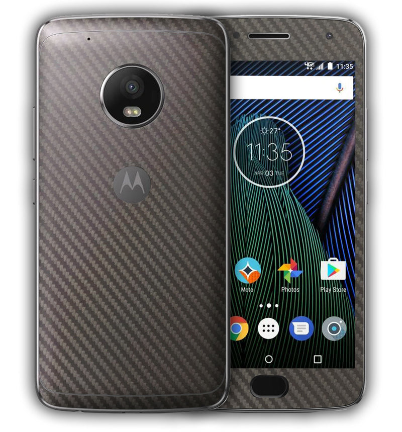 Moto G5 Plus Phone Skins Carbon - JW Skinz