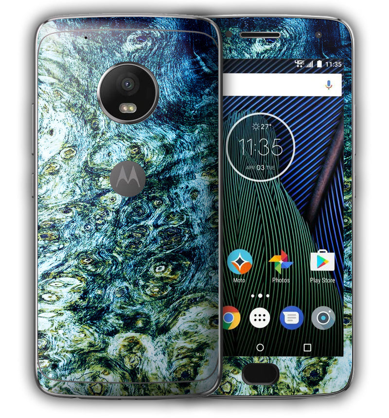 Moto G5 Plus Stabilized Wood Collection - JW Skinz