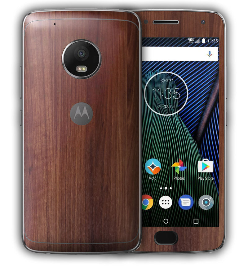 Moto G5 Plus Woodgrain Collection - JW Skinz