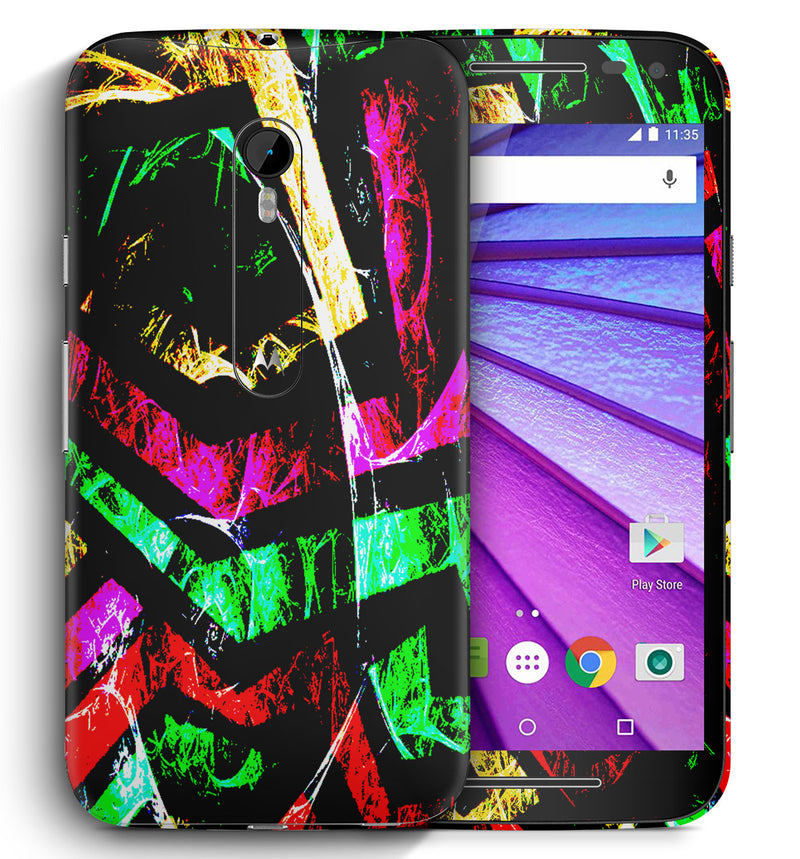 Moto G3 Abstract Collection - JW Skinz