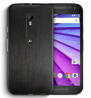Moto G3 Brushed Aluminum Collection - JW Skinz