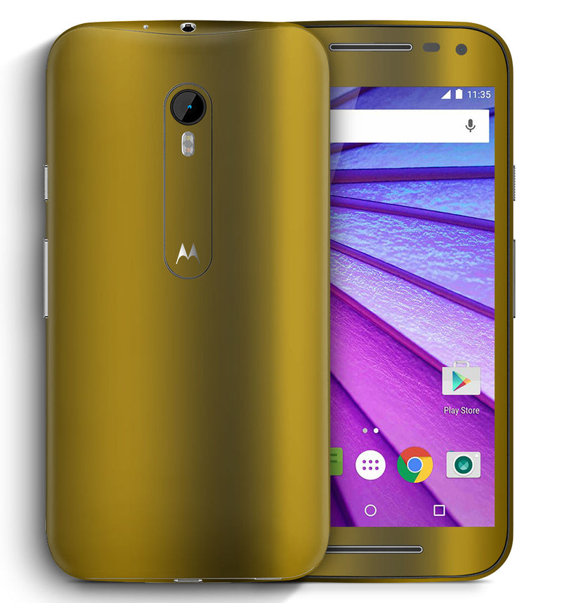 Moto G3 Chrome Collection - JW Skinz