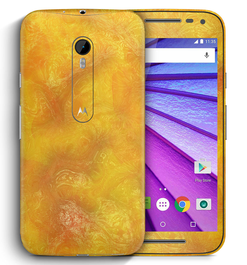 Moto G3 Marble Collection - JW Skinz