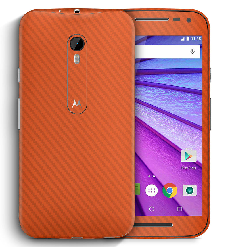 Moto G3 Carbon Collection - JW Skinz