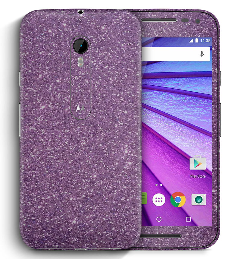 Moto G3 Sparkle Collection - JW Skinz