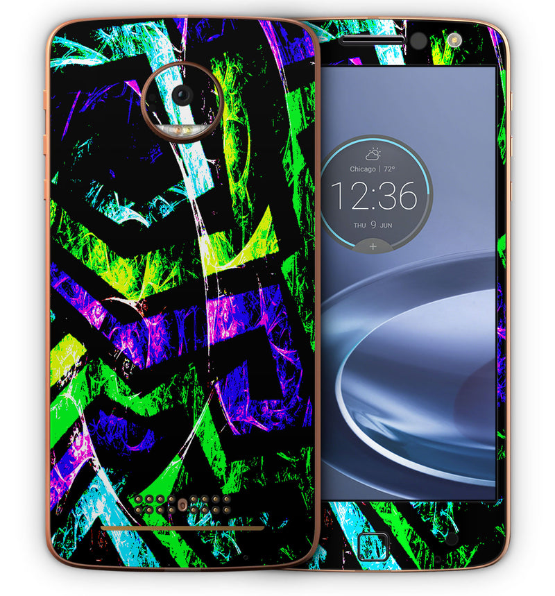 Moto Z Phone Skins Abstract - JW Skinz