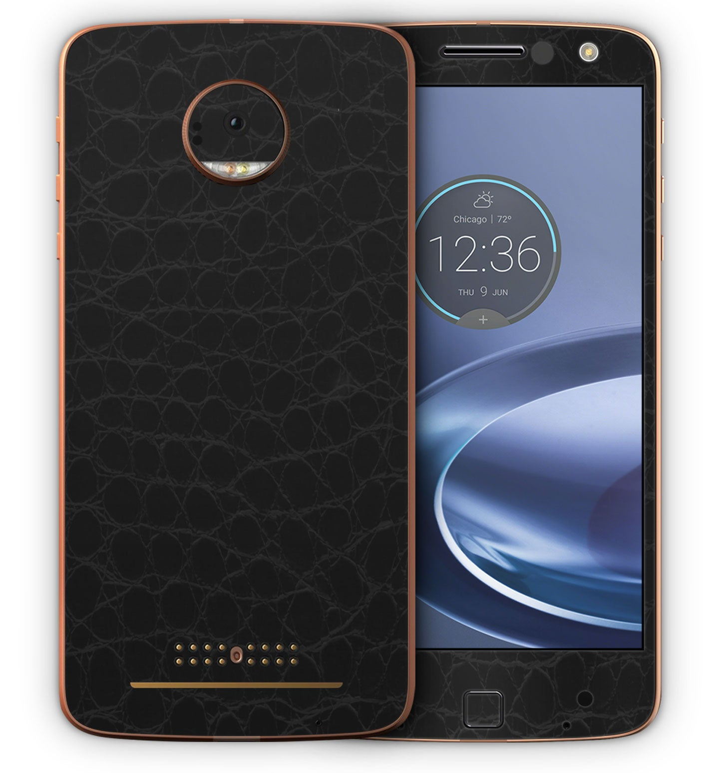 Moto Z Force Phone Skins Textured