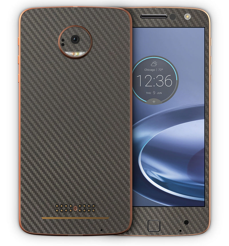 Moto Z Carbon Collection - JW Skinz