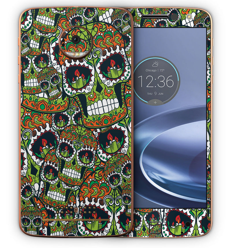 Moto Z Sugar Skulls Collection - JW Skinz